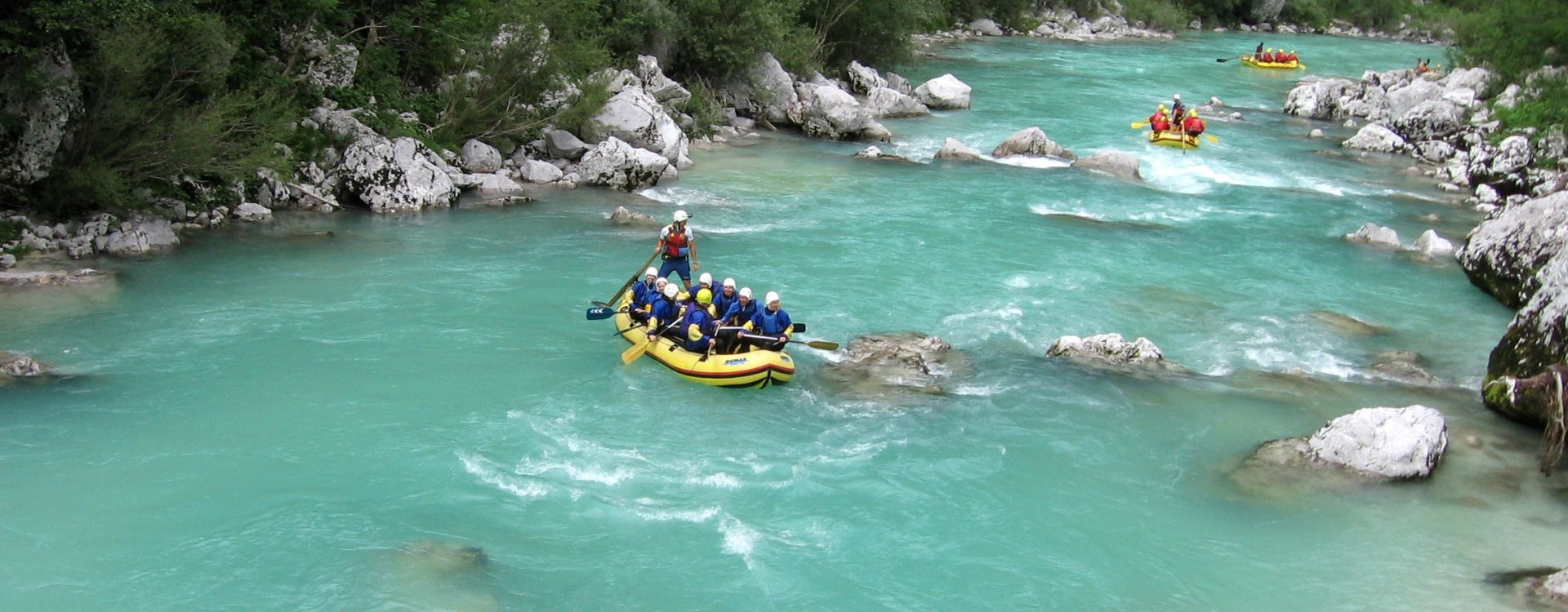 rafting soca valley slovenia