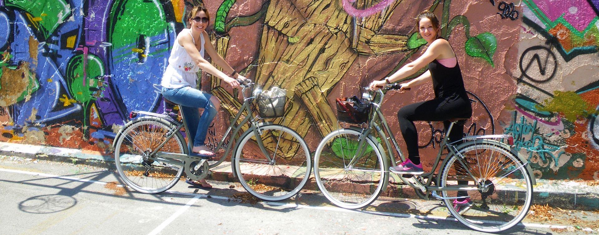 Biking around Ljubljana