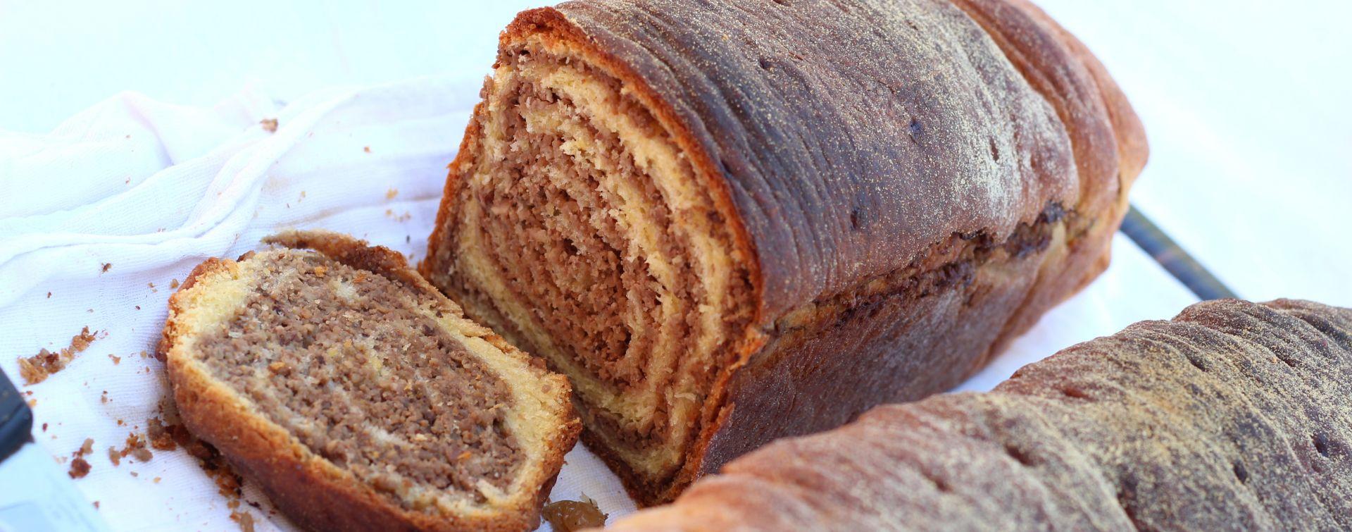 potica slovenian festive dish