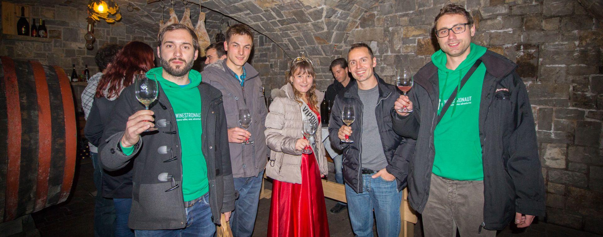 wine cellars in Vipava valley wine queen