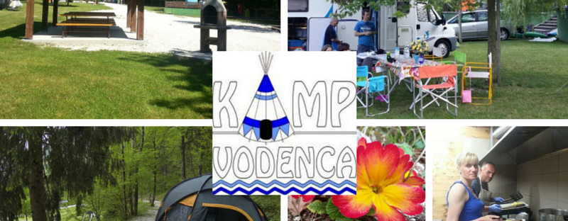 Camp Vodenca Soca valley