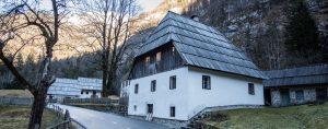 Trenta house Soca valley Slovenia