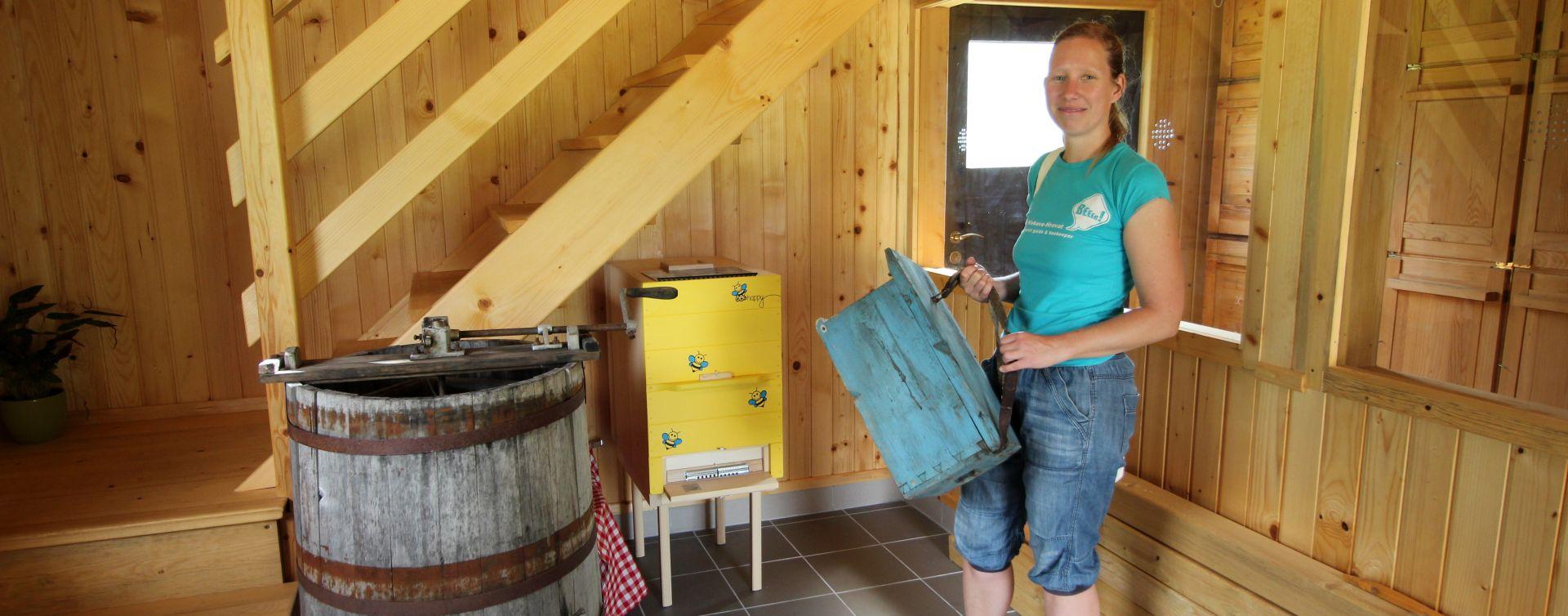 Beekeeper Soča valley Slovenia