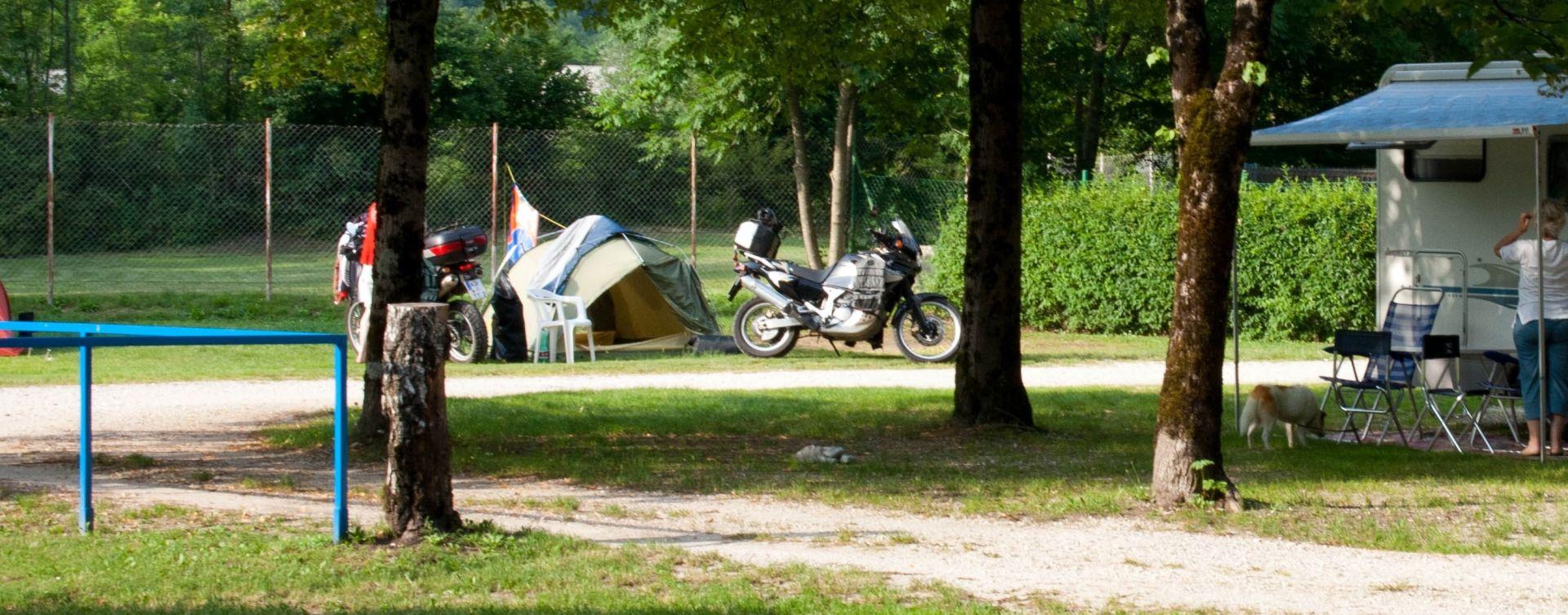 Kamp Polovnik Soča valley
