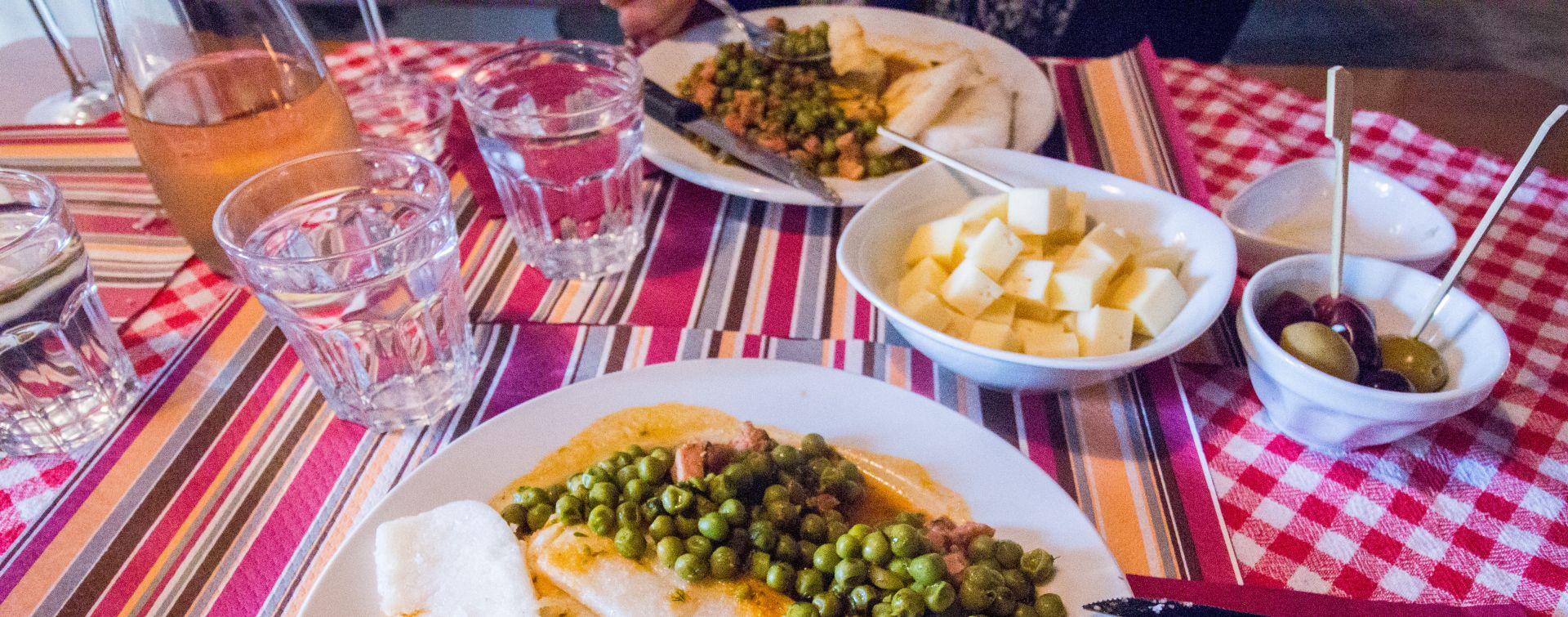 Brda local cuisine