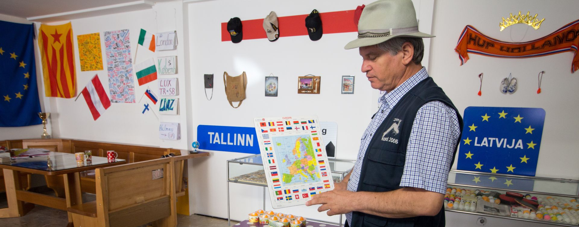 Hitchhiking Museum in Slovenia