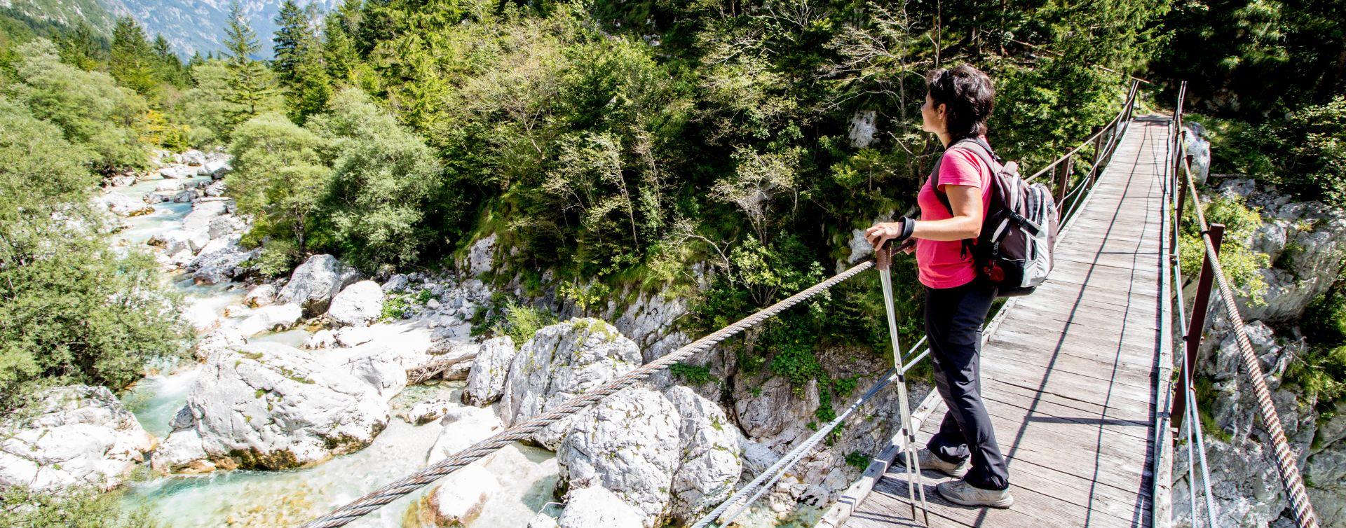 Hiking Alpe Adria Trail Slovenia