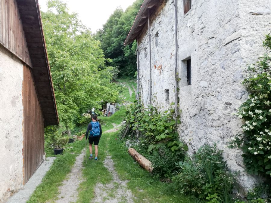 Juliana trail from Grahovo ob Bači to Tolmin stages 10 and 11