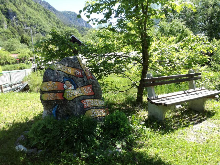 Juliana trail from Kranjska Gora to Mojstrana stage 1