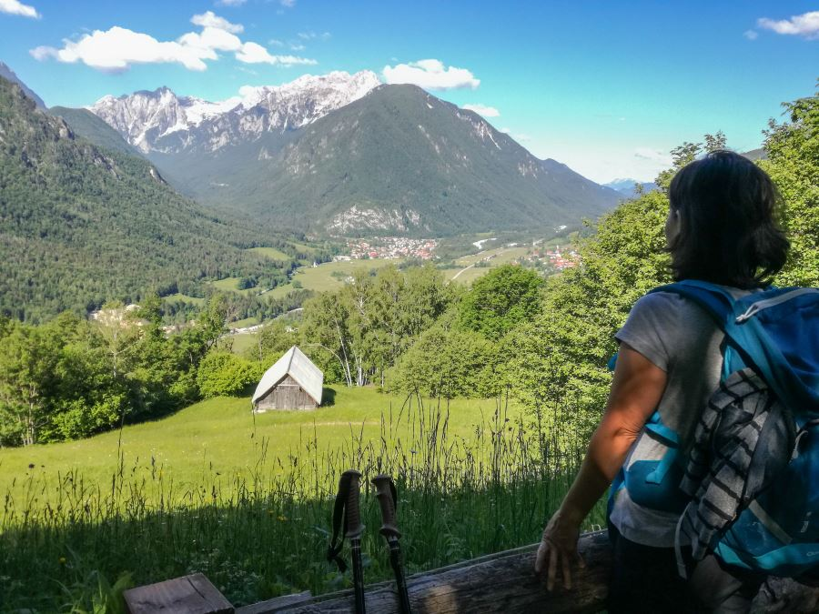 Juliana trail from Mojstrana to Jesenice stage 2