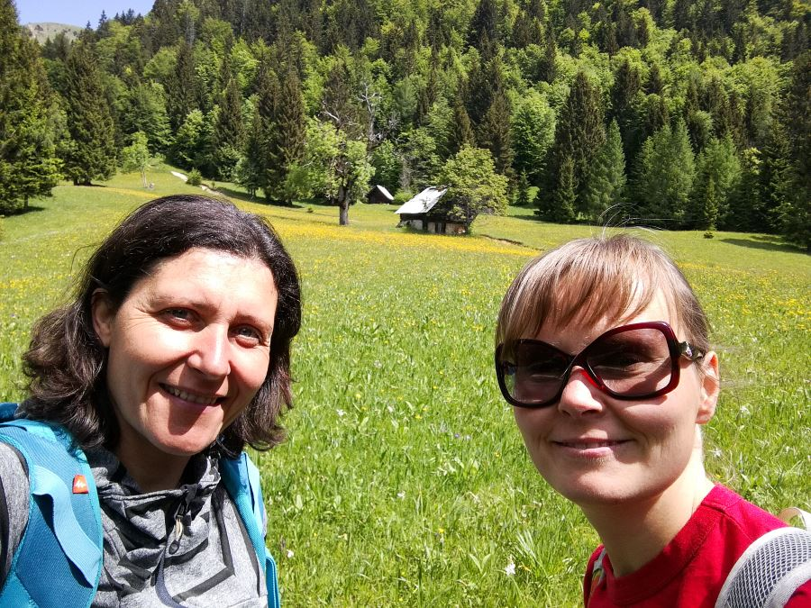 Juliana trail from Mojstrana to Jesenice stage 2