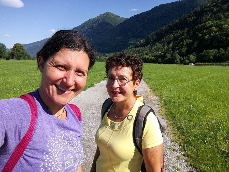Juliana trail from Tolmin to Kobarid stage 12