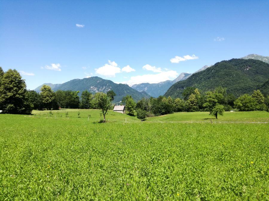 Juliana trail from Tolmin to Kobarid stage 12