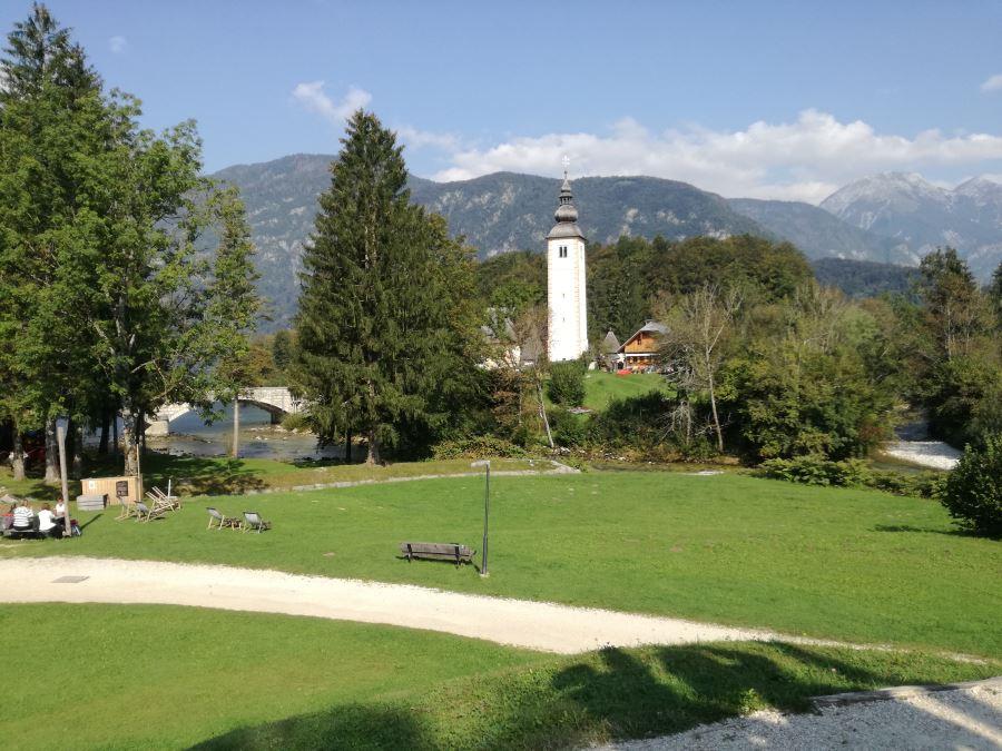 Juliana trail from Stara Fužina to Bohinjska Bistrica stage 7